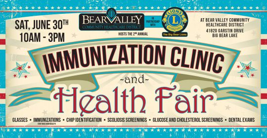 Immunization Clinic & Health Fair